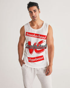 "Men's ""Sneakerhead vs Hypebeast"" LE Sports Tank - SNEAKERHEADS CLOTHING LINE"