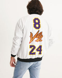 Black Mamba Tribute Men's Bomber Jacket - SNEAKERHEADS CLOTHING LINE