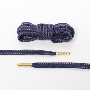 Dark Denim Premium Shoelaces - SNEAKERHEADSCLOTHINGLINE
