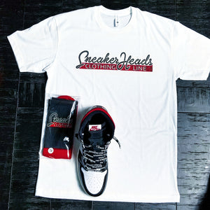 Exclusive SNEAKERHEADS CLOTHING LINE LE Shirt (White) - SNEAKERHEADS Clothing Line