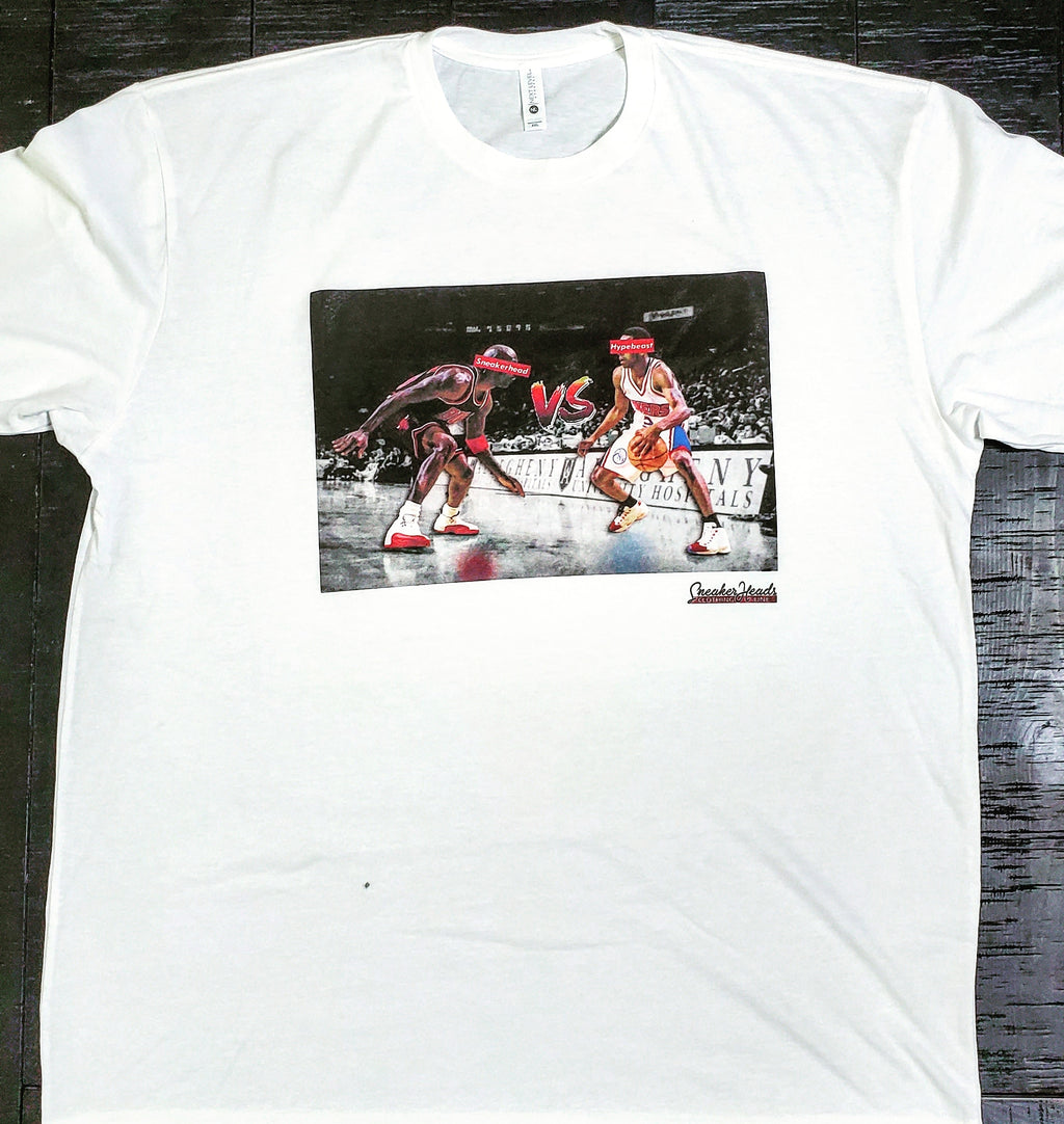 "Exclusive ""Da Crossover (SNEAKERHEAD vs HYPEBEAST)"" LE Shirt - SNEAKERHEADS CLOTHING LINE"