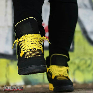 "Exclusive ""THUNDER/LIGHTNING"" LE Custom Shoelaces - SNEAKERHEADS Clothing Line"