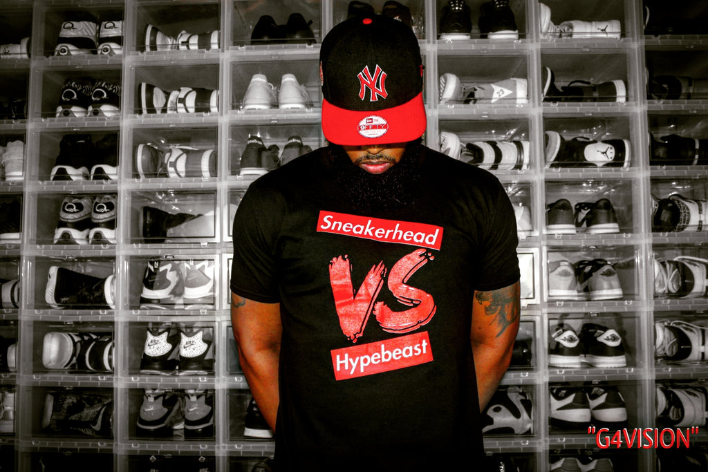 EXCLUSIVE SNEAKERHEAD vs HYPEBEAST LE Tshirt - SNEAKERHEADSCLOTHINGLINE