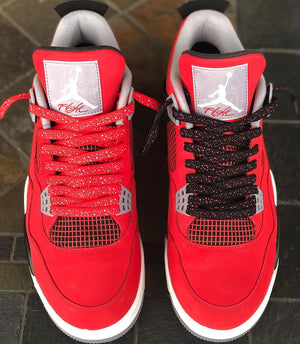 "Exclusive ""Fire Red"" LE Custom Laces - SNEAKERHEADSCLOTHINGLINE"