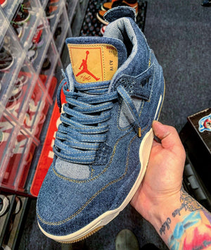 "Exclusive ""Denim"" LE Premium Shoelaces - SNEAKERHEADS CLOTHING LINE"
