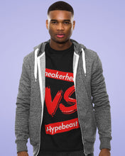 Load image into Gallery viewer, EXCLUSIVE SNEAKERHEAD vs HYPEBEAST LE Tshirt - SNEAKERHEADS CLOTHING LINE