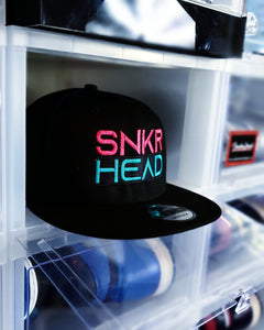 "Exclusive ""SNEAKERHEAD (South Beach)"" LE Snapback (NewERA Collaboration) - SNEAKERHEADS CLOTHING LINE"