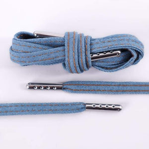 Denim Premium Shoelaces - SNEAKERHEADS Clothing Line