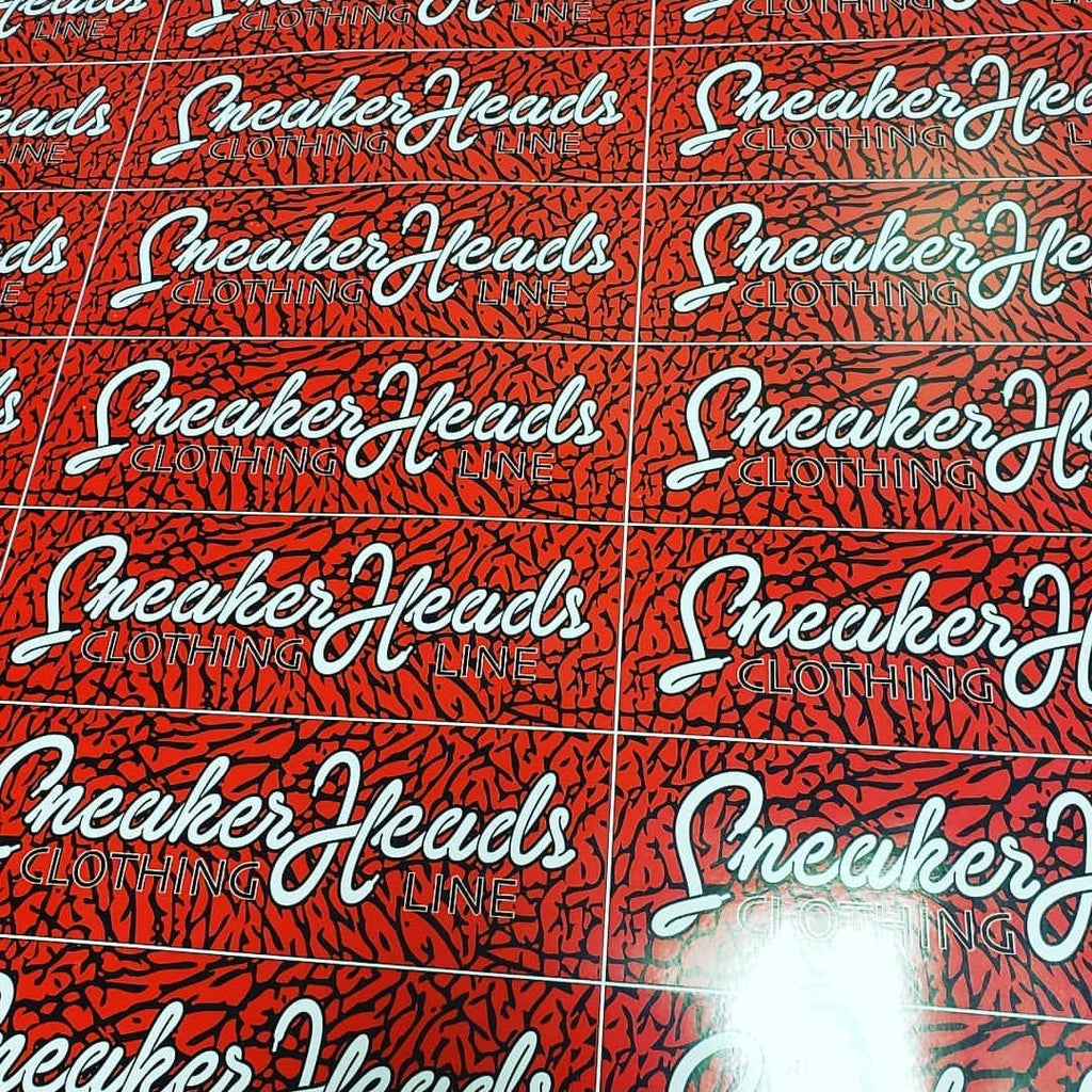 "Exclusive #SNEAKERHEADS CLOTHING LINE ""Logo"" LE Stickers - SNEAKERHEADS CLOTHING LINE"