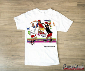 "Exclusive #SNEAKERHEADS ""OOOOH ON THE SCL TIP"" LE Shirt - SNEAKERHEADS Clothing Line"