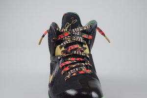 "Exclusive ""Watch The Throne"" LE Custom Shoelaces - SNEAKERHEADS CLOTHING LINE"