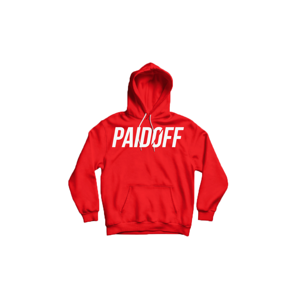 Red Paid Off Signature Hoodie