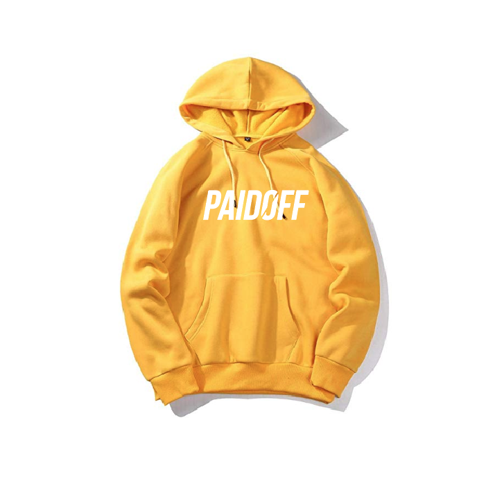 Gold Paid Off Signature Hoodie