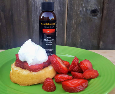 Strawberry Shortcake with Fresh Whipped Cream