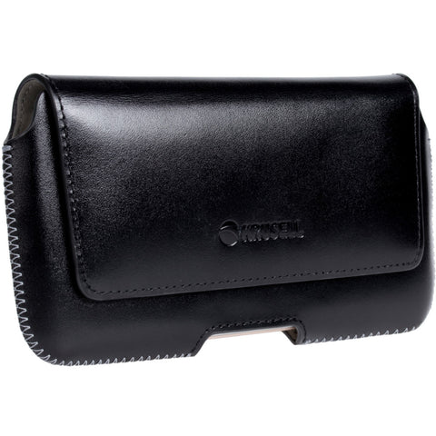 Belt loop leather case with card pocket (Hector Plus)