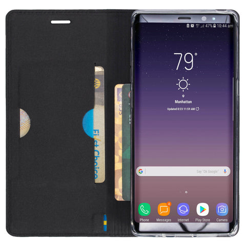 Samsung Galaxy Note 8, Malmo 4 Card FolioCase