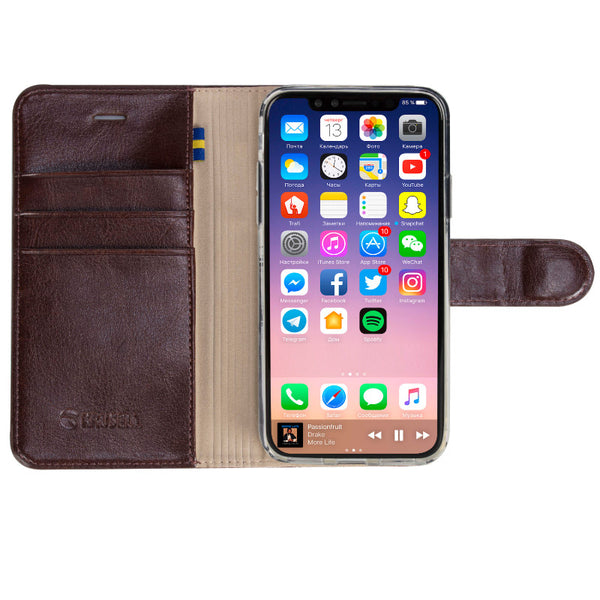 iPhone X/XS, Ekero FolioWallet 2in1