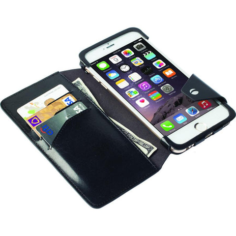 iPhone 6 & 6s : Flip Wallet Case, Genuine Leather (Kalmar)