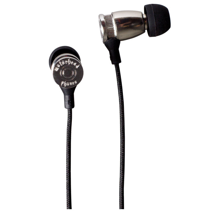 Motorheadphones Trigger In-Ear Headphones - Sliver