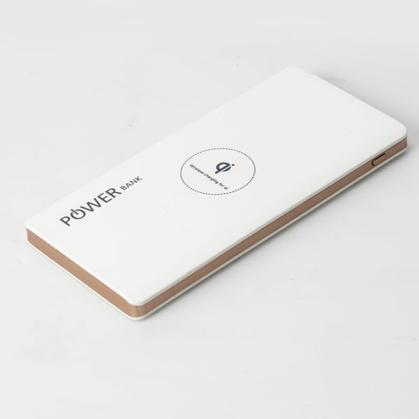 PowerBank Wireless Charger for iPhone, Samsung, Qi compatible phones
