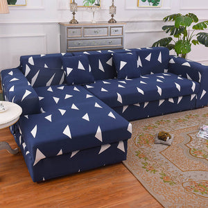 1/2 pieces Sofa Cover Set Geometric Elastic Couch Cover