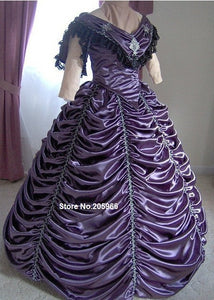 1800s Victorian Dance Dress - Civil War Ball Gown