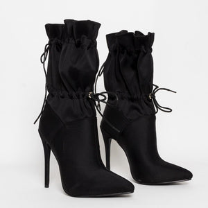 Camouflage Ankle Lace Up Sexy Boots