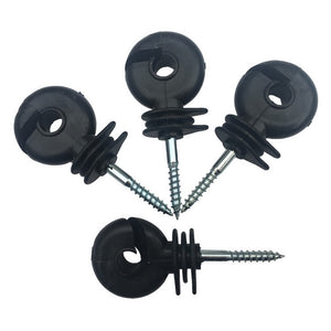 50PCS Fencing Insulator Screw in Post Rings