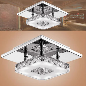 Crystal Lighting Luminaria Abajur Modern LED