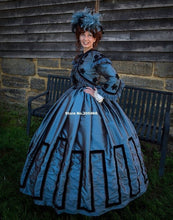Custom Made - 1800s Victorian Dress  Jacket Dress