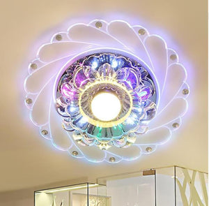 Circular Mini Ceiling Rotunda Light