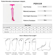 Perixir Thigh High Sandals Sexy Cut-Outs Long Gladiator Boots Rihanna Style Platform High Heels Boots Woman 2019 Summer Sandals