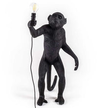 Black,. White. Gold Monkey Lamp Pendant Light