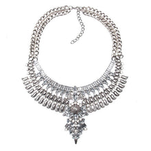Vintage Crystal Maxi Collier Choker
