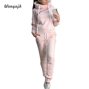 Two Piece Long Sleeve Jackets And Pants Set
