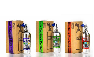 Gentlemen, Start Your Engines and Fill Up Your Tank with NOS E-liquids