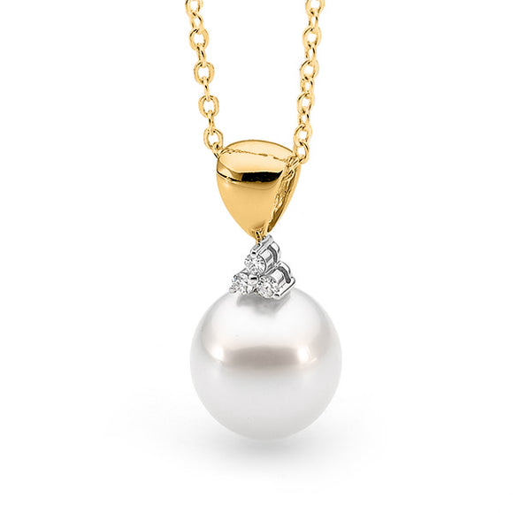 pearl pendants category and product sea yellow or white allure gold south pendant diamond pearls