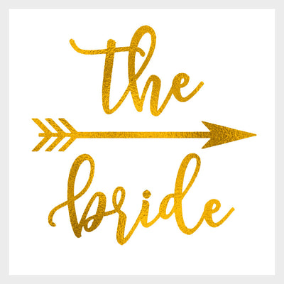The Bride Gold Tattoo