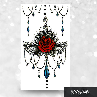 Sternum Rose Ornament