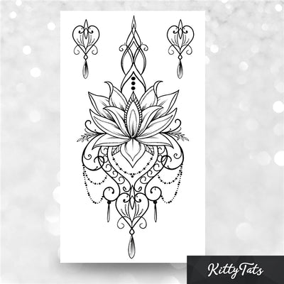 Ornamental Lotus Flower
