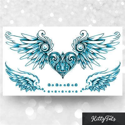 Detailed Winged Heart