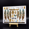 Metallic Egyptian Symbols 1