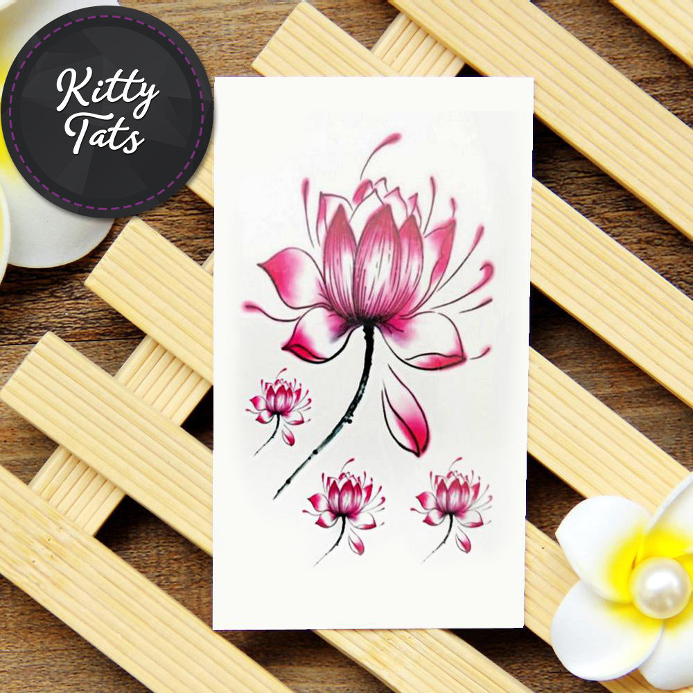 Simple lotus flower kittytats simple lotus flower izmirmasajfo