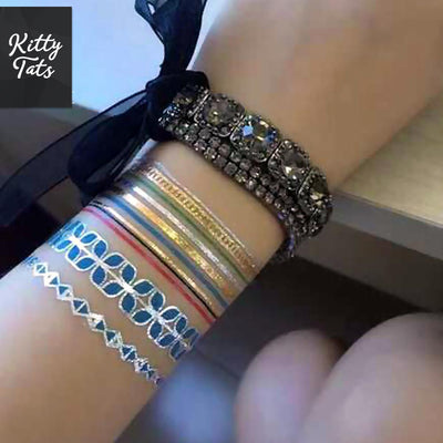 Colorful Metallic Bands 9