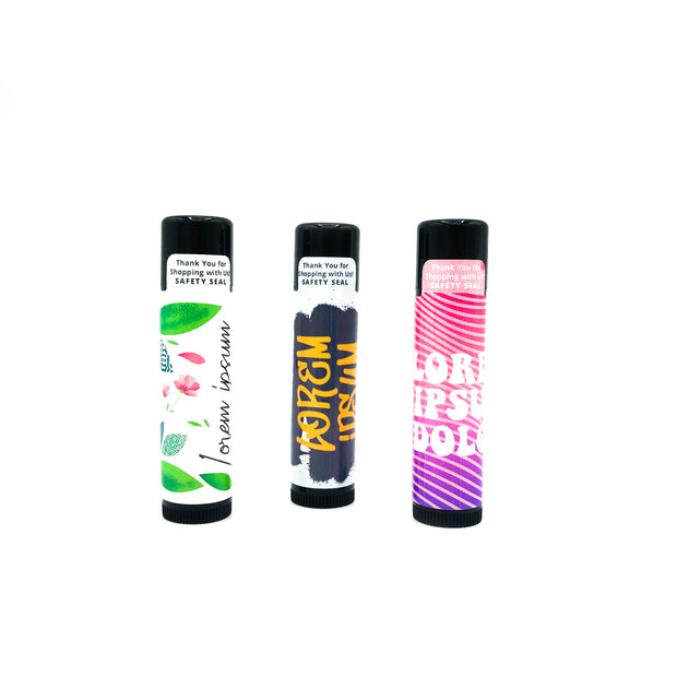 Custom Lip Balm (6 Pack) Buy One 6 Pack, Get One 6 Pack FREE