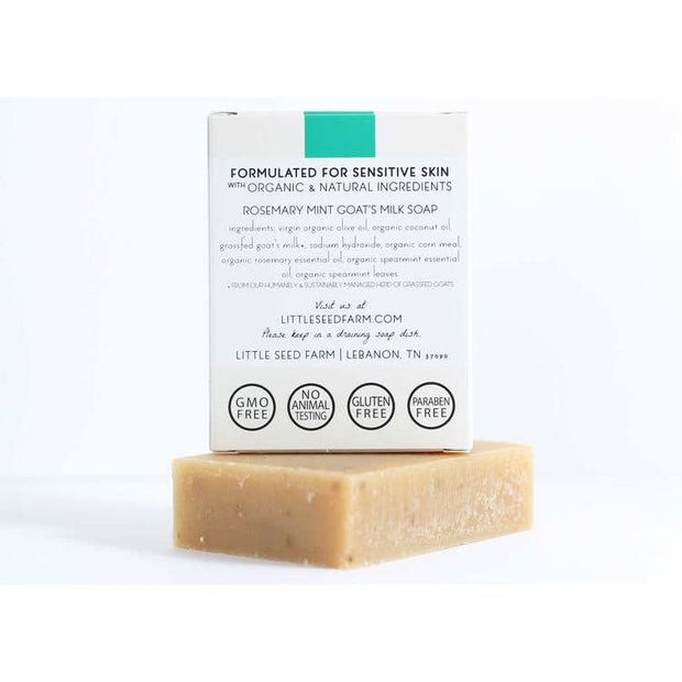 Mini Rosemary Mint Scrub Bar
