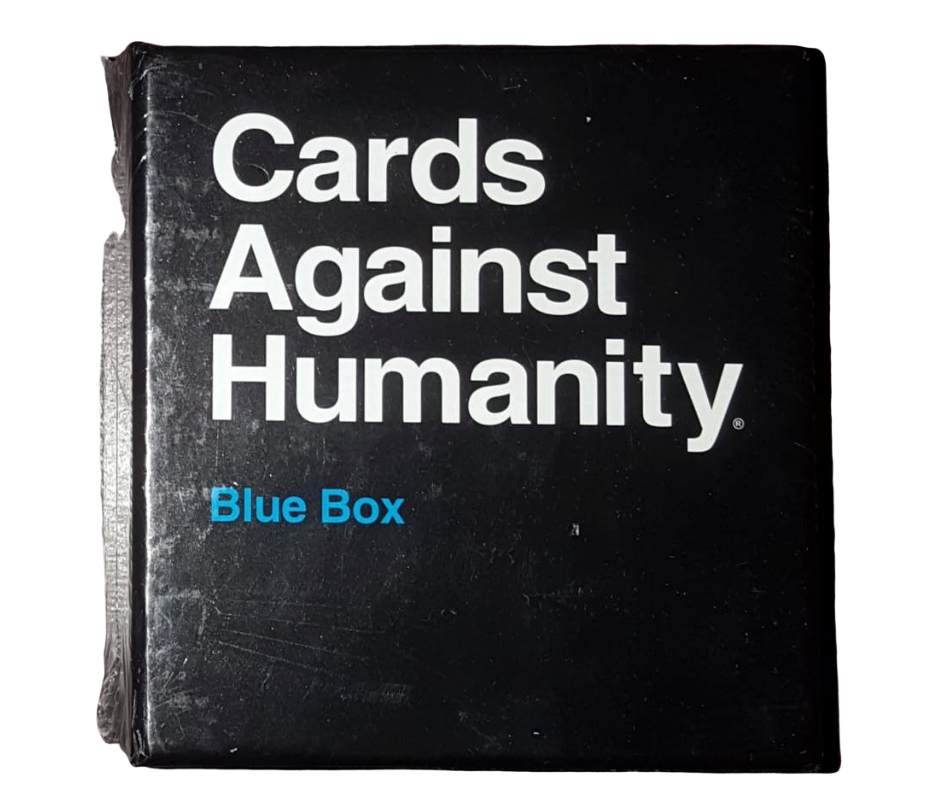 Cards Against Humanity expansion deck blue