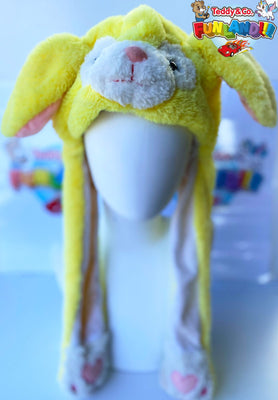Animal Hats - Bunny Pop - Yellow Bear