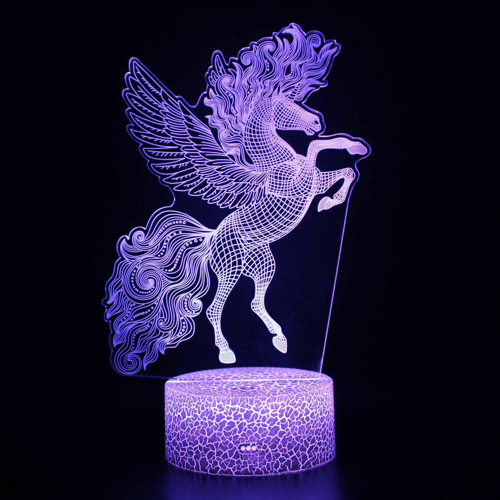 3D Lamps - FLYING UNICORN 6