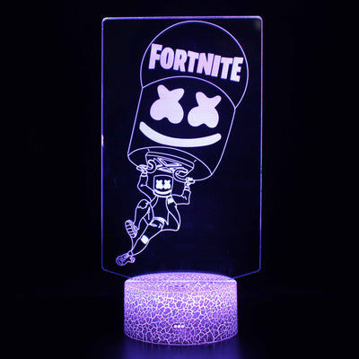 3D Lamps - FORTNITE MARSHMELLO
